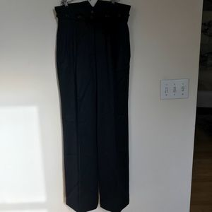 Pants - Ruffian wide leg trousers black wool size 8